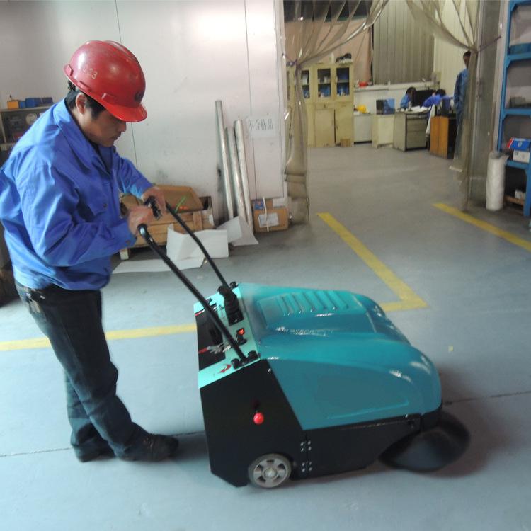 AL980艾隆手推自走式吸尘清扫车,扫地宽度1m