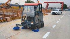 <b>Q8M驾驶式扫地车助力青岛地铁施工环境改善</b>