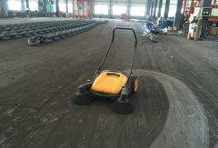 小型扫地车无动力扫地机第一季度销量同比增长
