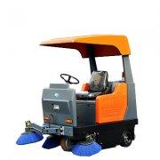 工业用扫地机工作原理